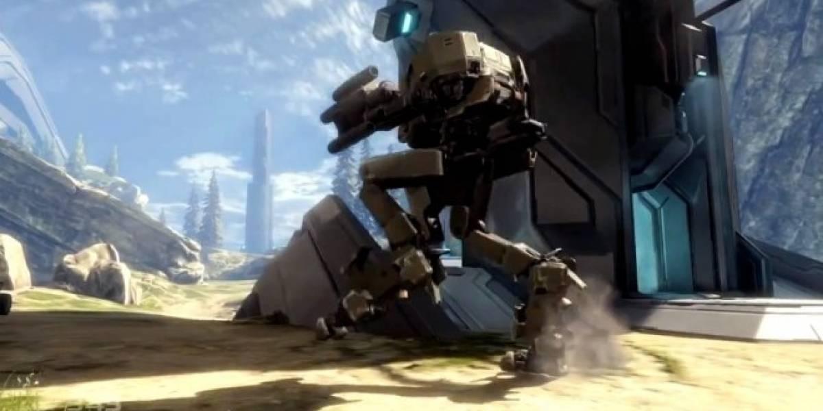 Valhalla regresa en Halo 4 junto al nuevo vehículo Mantis
