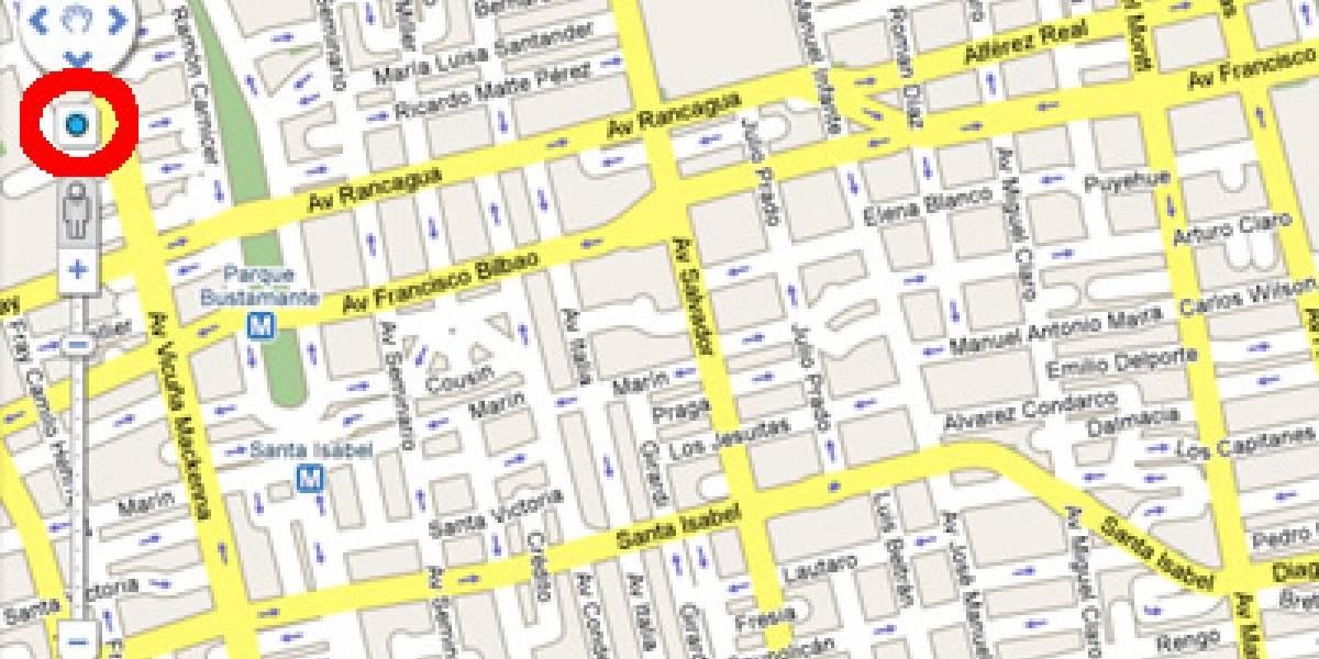 """Google Maps agregó función """"My Location"""" a su versión para computador"""