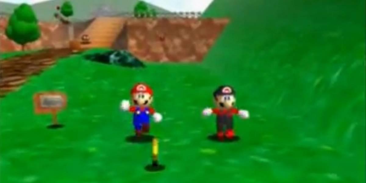 Mod de Super Mario 64 añade modo cooperativo