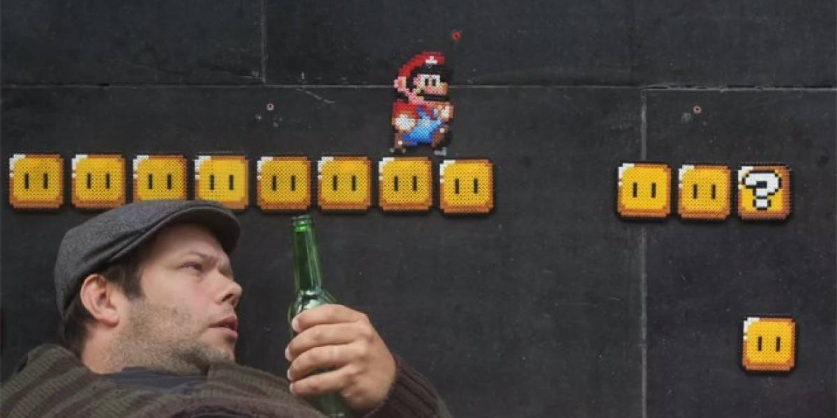 Mario Bros. da un pequeño paseo por la vida real