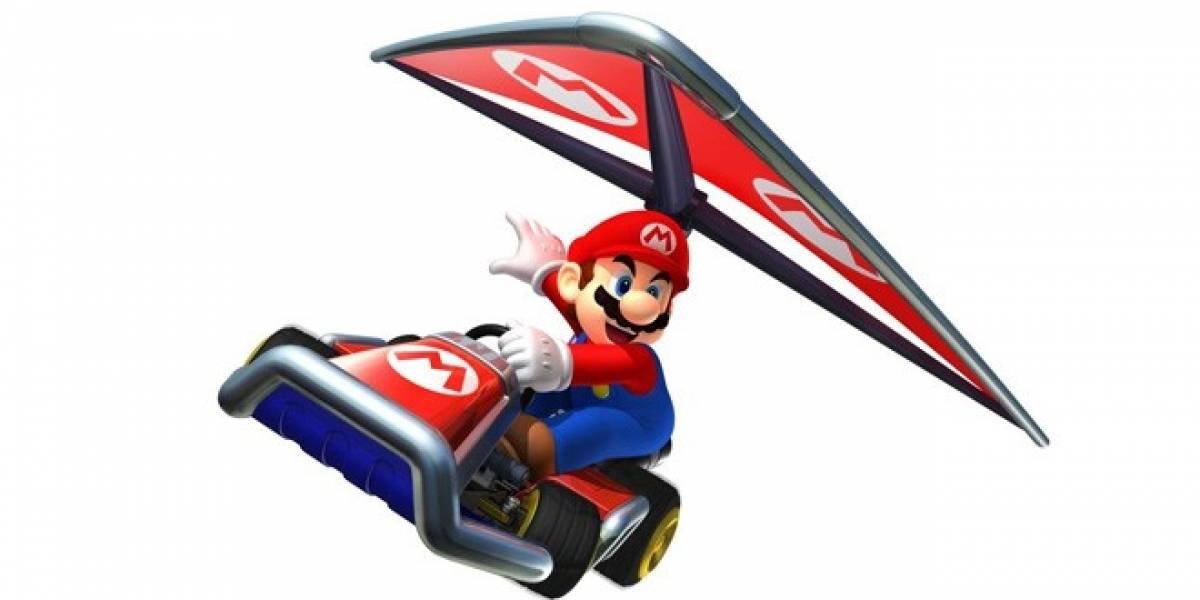 No más atajos groseros en Mario Kart 7 de 3DS gracias a nueva actualización