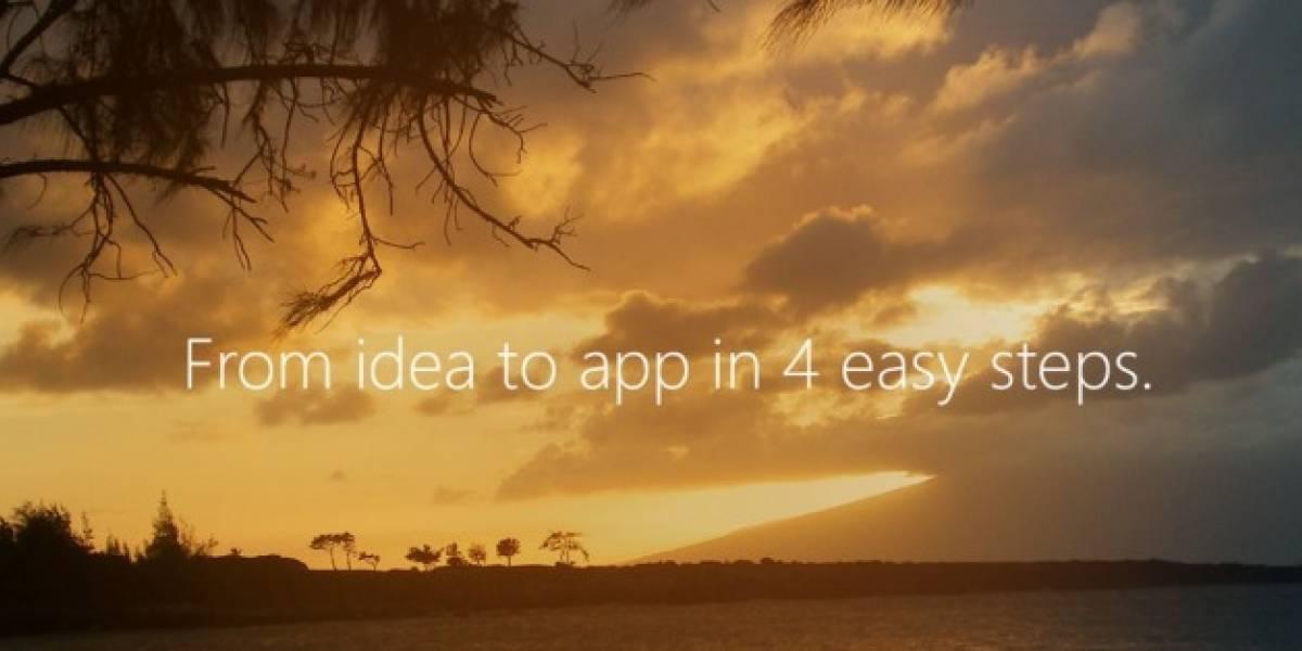 Windows Phone App Studio, ahora cualquiera puede crear una aplicación