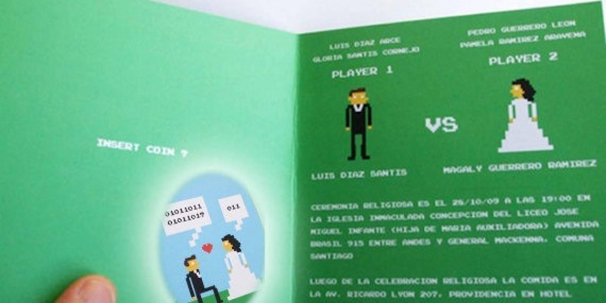 OMG: La forma más geek de invitarte a un matrimonio