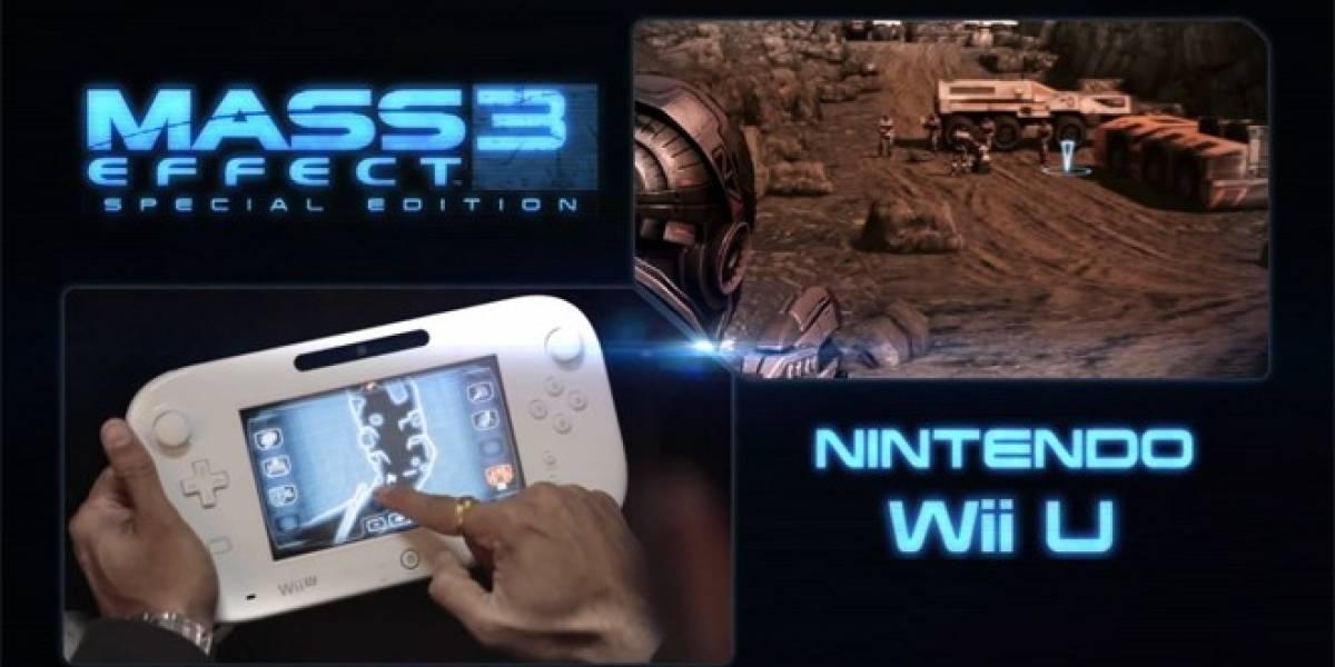 BioWare libera tráiler de Mass Effect 3 para Wii U