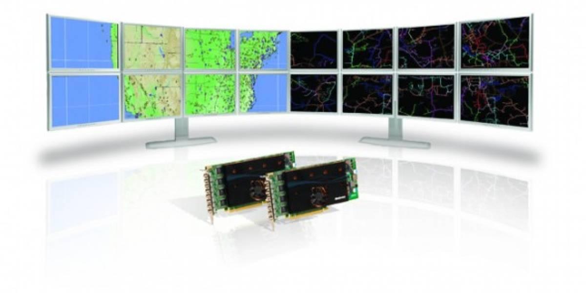 Matrox: tarjeta con soporte para 8 monitores