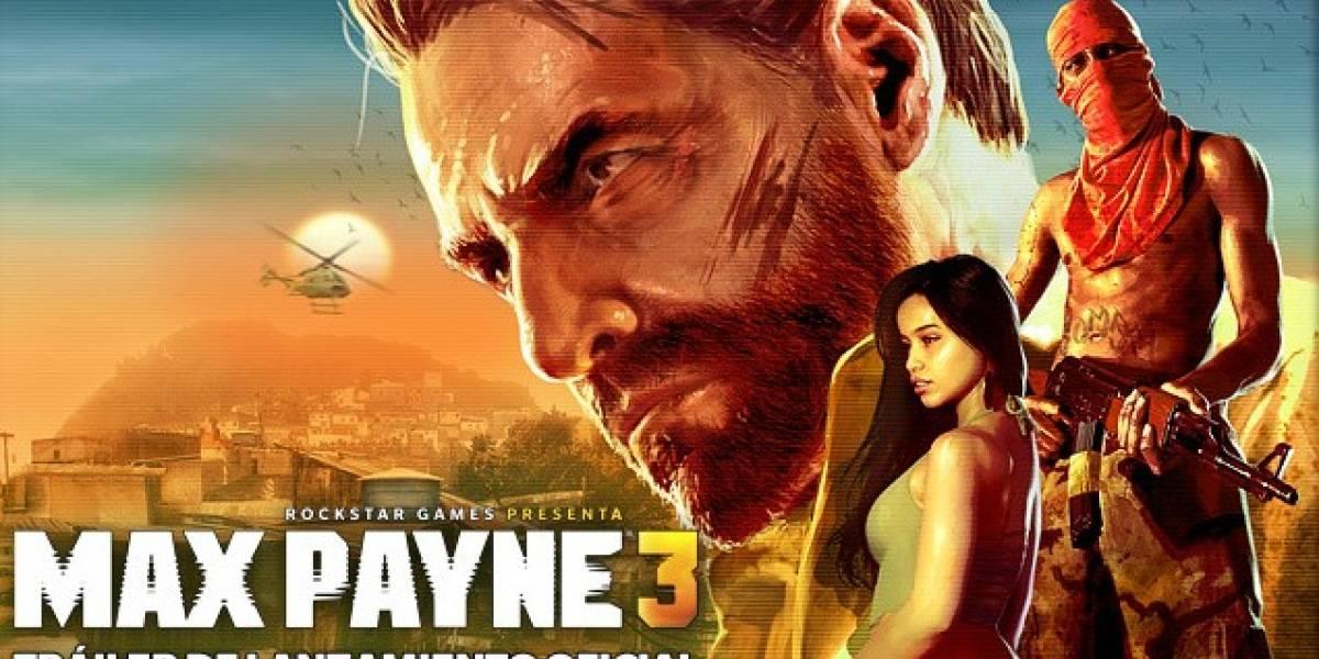 Max Payne 3 tiene un glorioso y oscuro trailer de lanzamiento