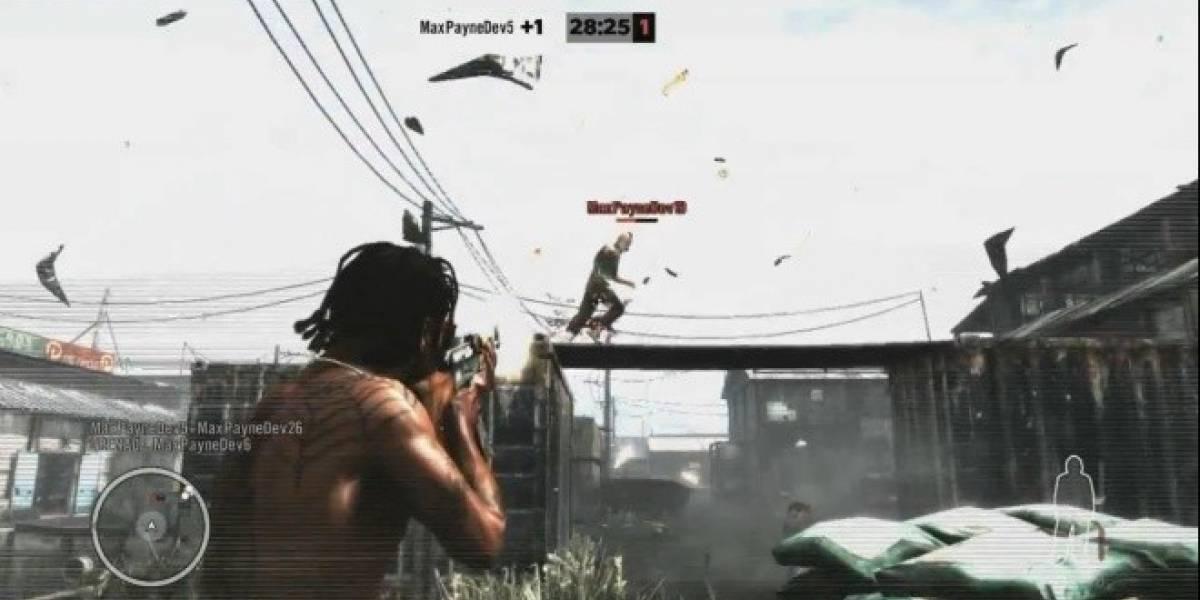 Así es el multijugador de Max Payne 3