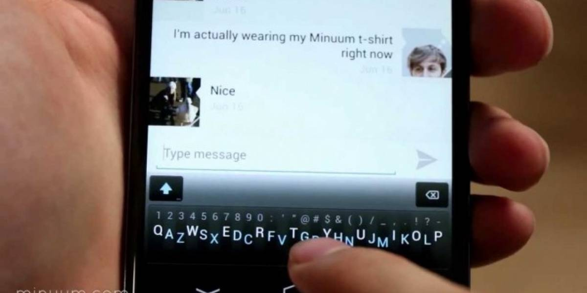 Minuum, el teclado minimalista, ya disponible en Google Play