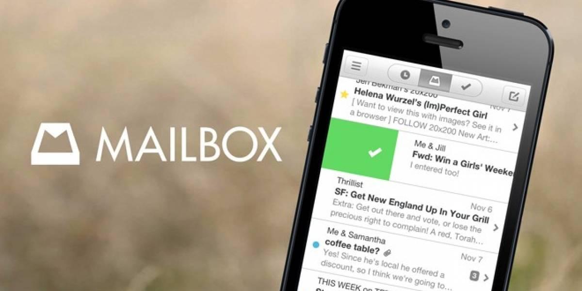 En un futuro, aplicación Mailbox llegará al PC de escritorio
