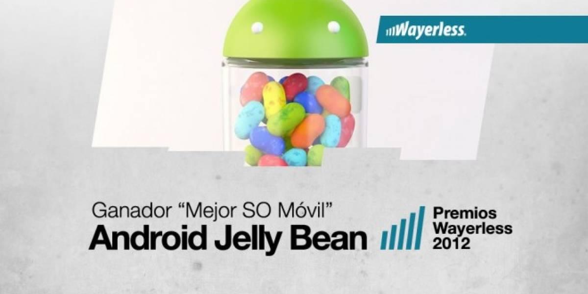 Android Jelly Bean es el Mejor Sistema Operativo Móvil 2012 [WL aWards]
