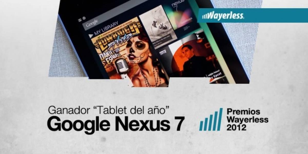 Nexus 7 es la Tablet del Año 2012 [WL aWards]