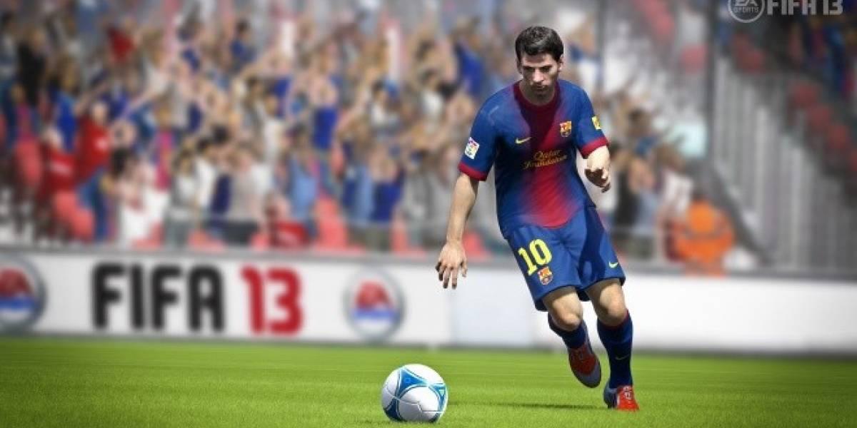 Así funciona el Control al Primer Toque en FIFA 13