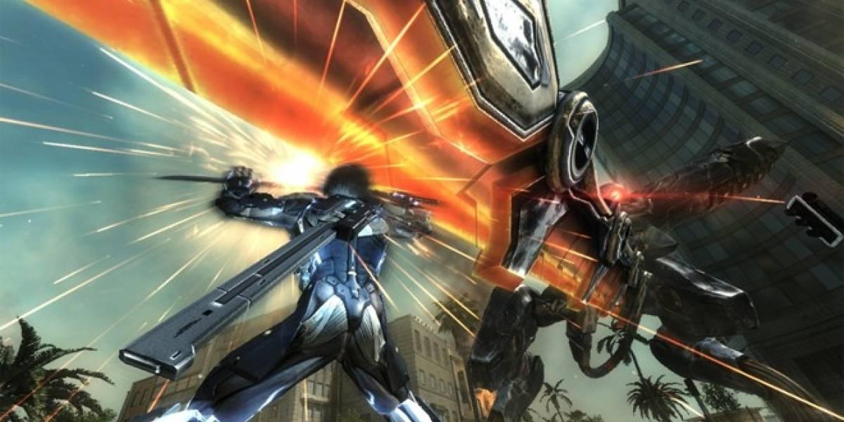 Kojima anuncia versión jugable de Metal Gear Rising en la E3 2012