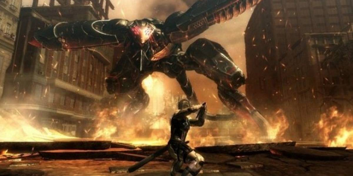 TGS 12: Acción y sigilo en nuevo tráiler de Metal Gear Rising