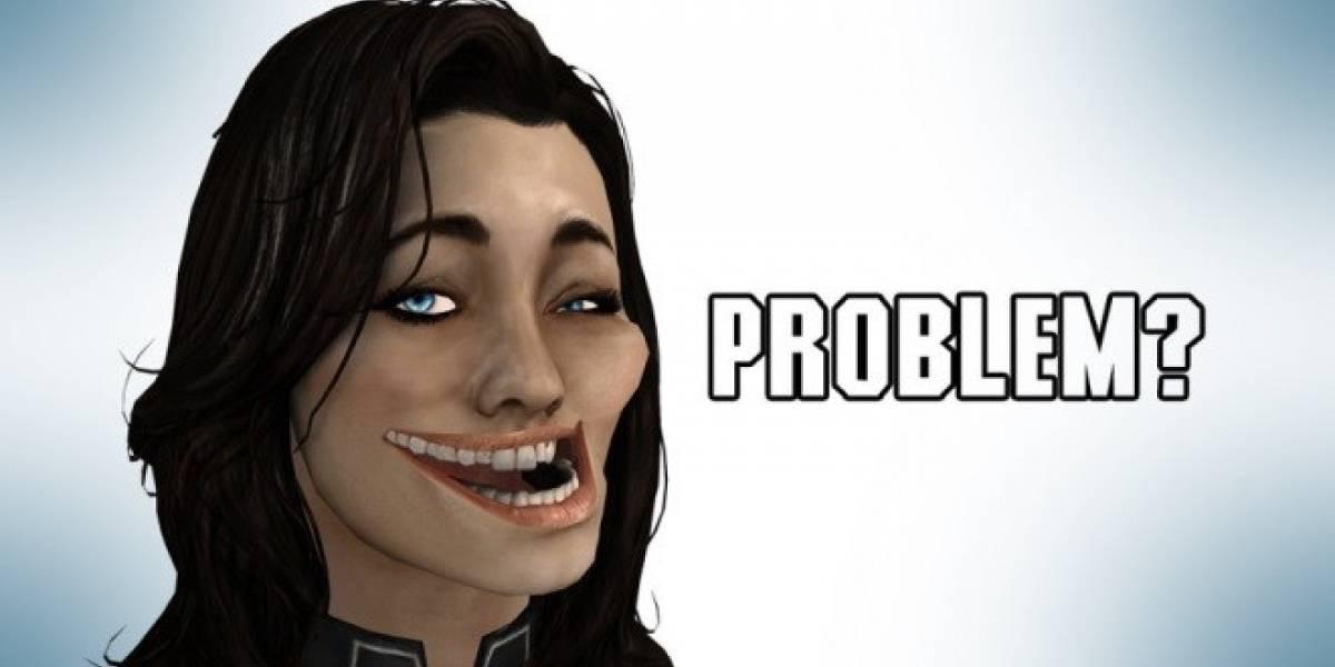 Reportan problemas técnicos en la versión de Mass Effect para PS3