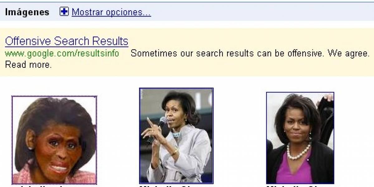 Google da explicaciones por foto de Michelle Obama