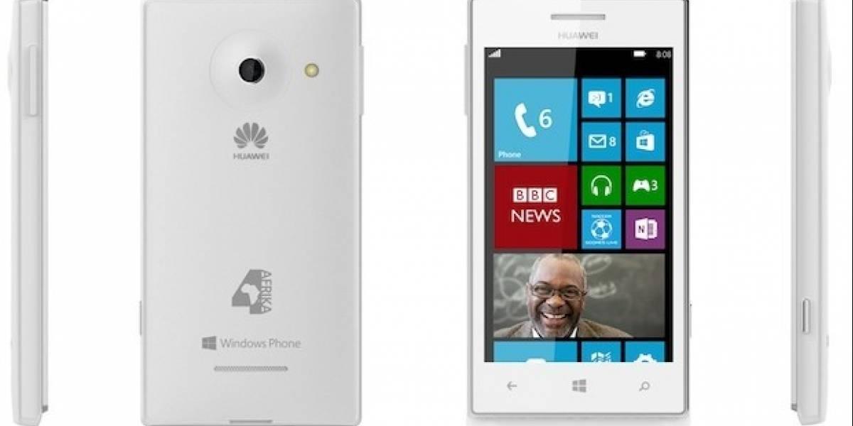 Huawei junto a Microsoft lanzan teléfono en Africa con Windows Phone 8