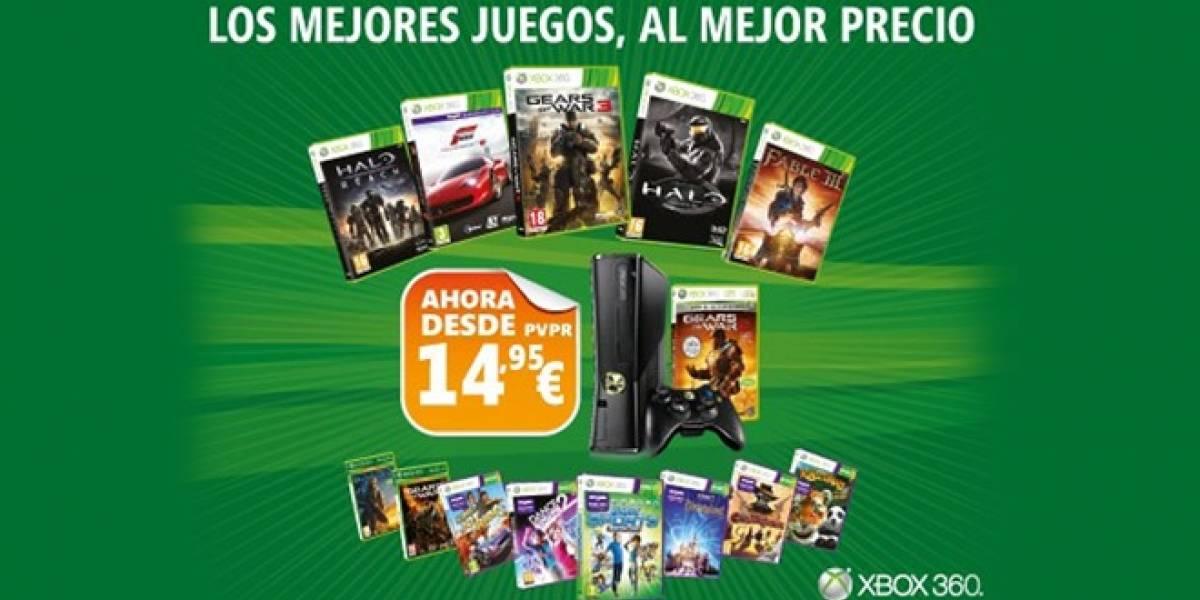 Microsoft lanzará videojuegos para Xbox 360 a precios reducidos