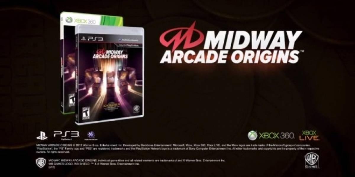 Más de treinta clásicos regresan con Midway Arcade Origins