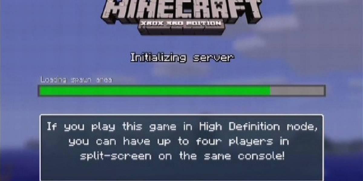 Cuidado: Minecraft en Xbox 360 no soporta el multijugador en televisores antiguos