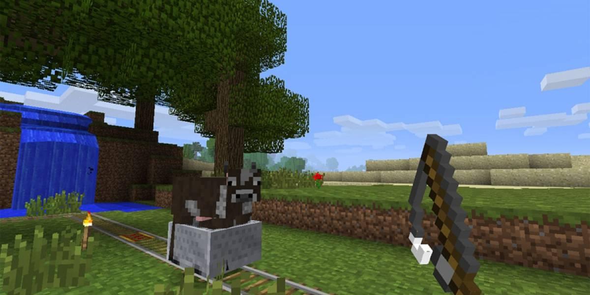 Minecraft 360 ya superó el millón de copias vendidas