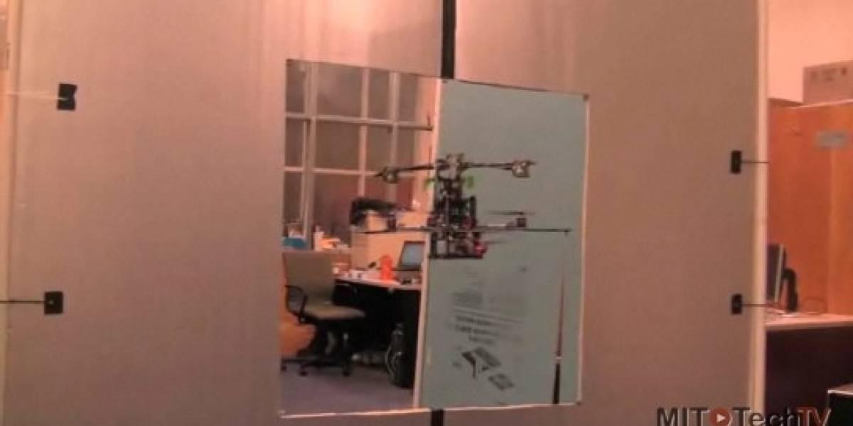 El MIT desarrolla helicóptero que esquiva obstáculos