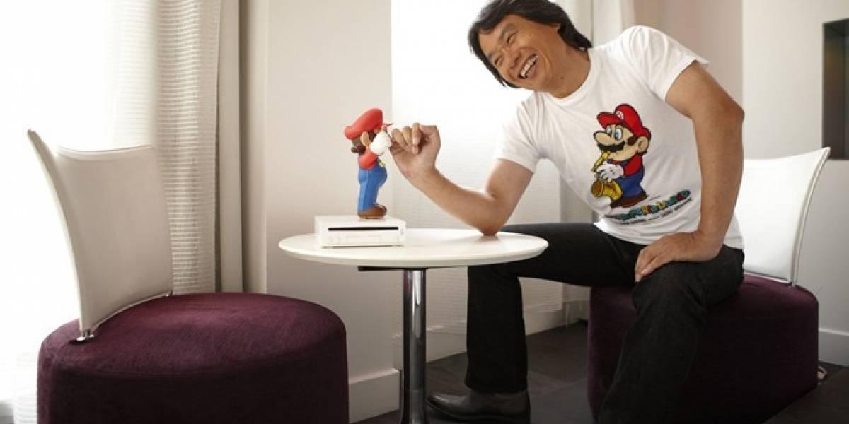 E3 2012: Shigeru Miyamoto se encuentra trabajando en un nuevo juego