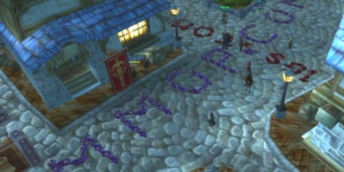 En World of Warcraft hacen spam con cadáveres