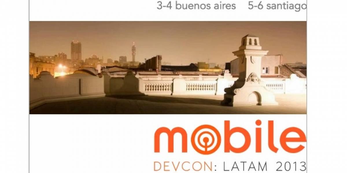 MobileDevCon llega a Argentina y Chile la primera semana de junio