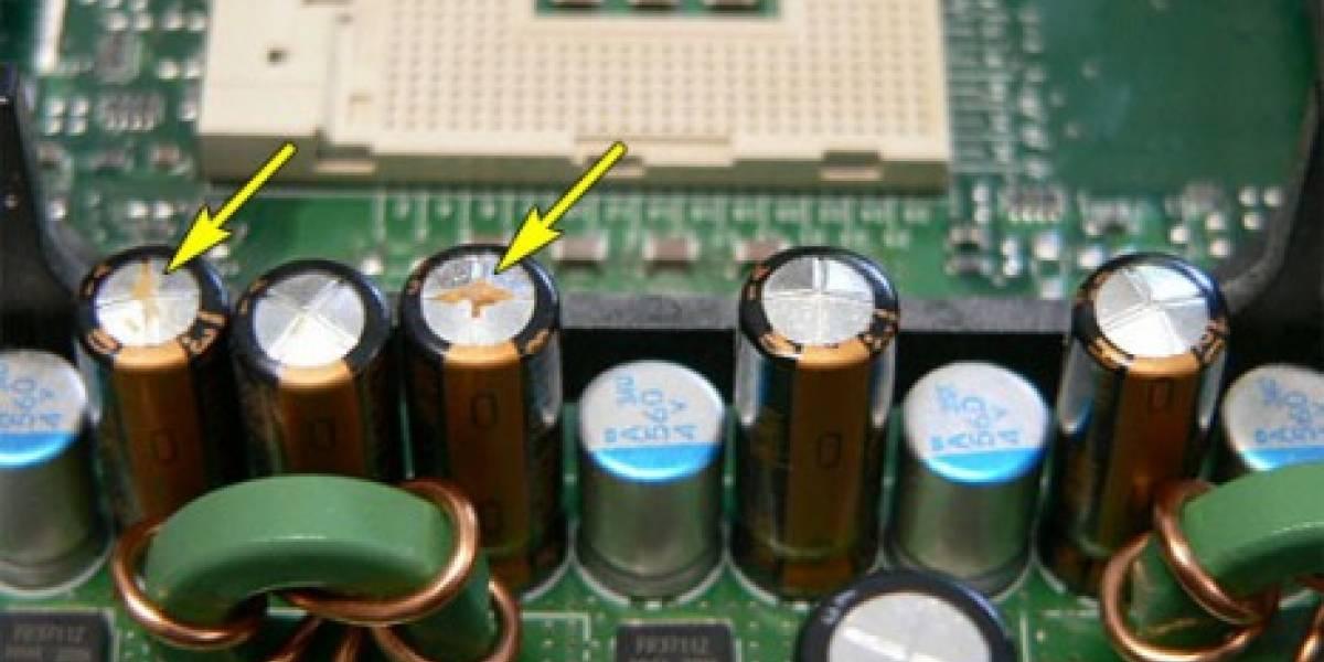 Componentes de motherboards en escasez