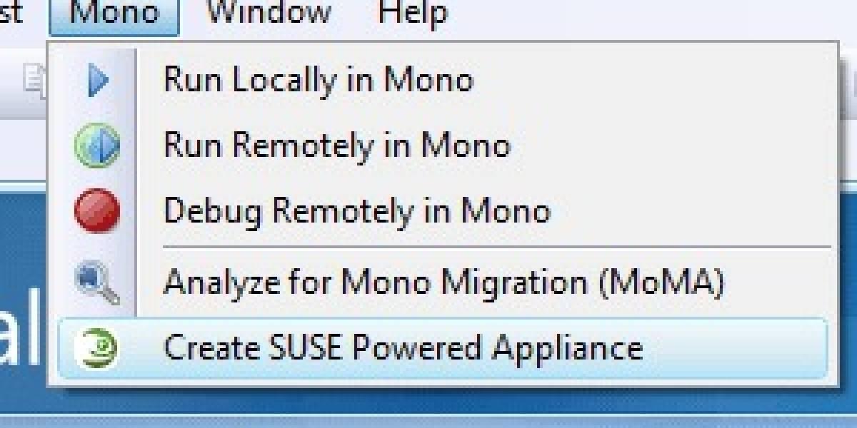 Visual Studio ahora se integra con Mono