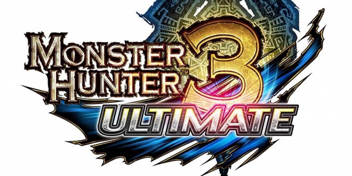 Monster Hunter 3 Ultimate para 3DS no contará con juego en línea