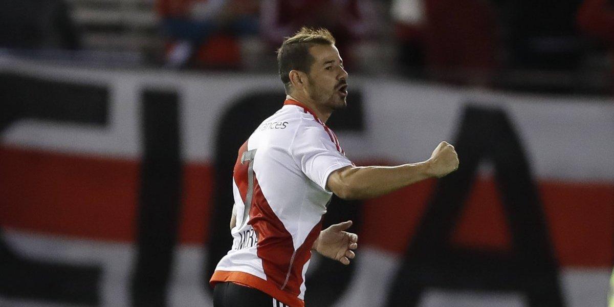 Les llegó el turno como titular a Mora y Quintero en River Plate