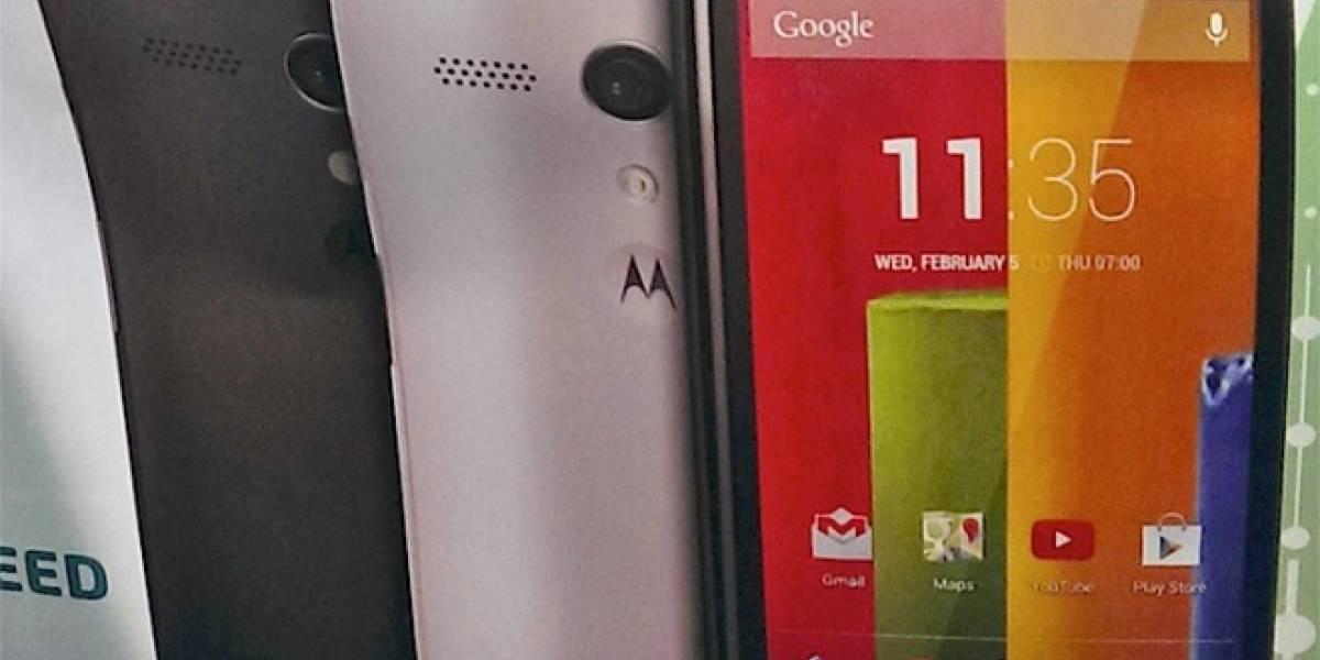Motorola confirma la llegada de Moto G para el 14 de Noviembre