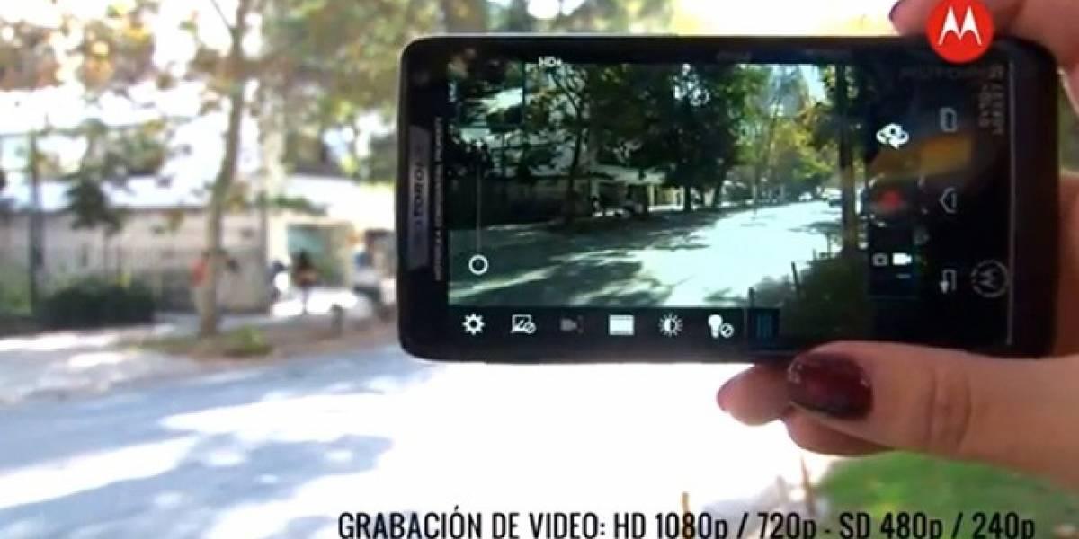 Motorola RAZR i, la mejor cámara de su categoría