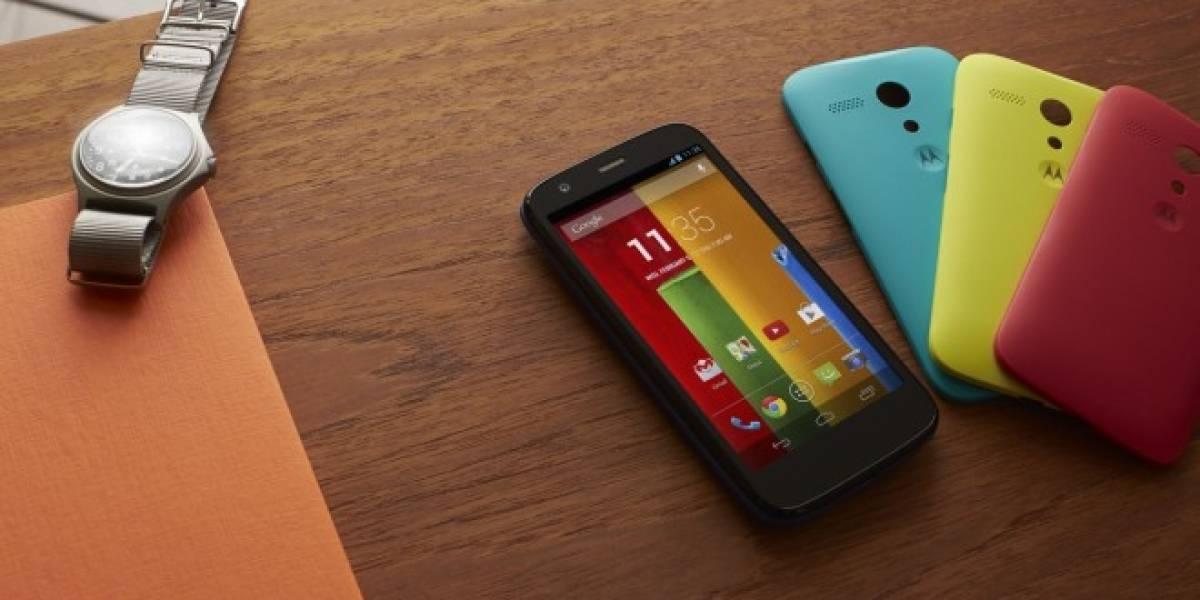 Motorola Moto G se actualiza a Android 4.4.2 KitKat