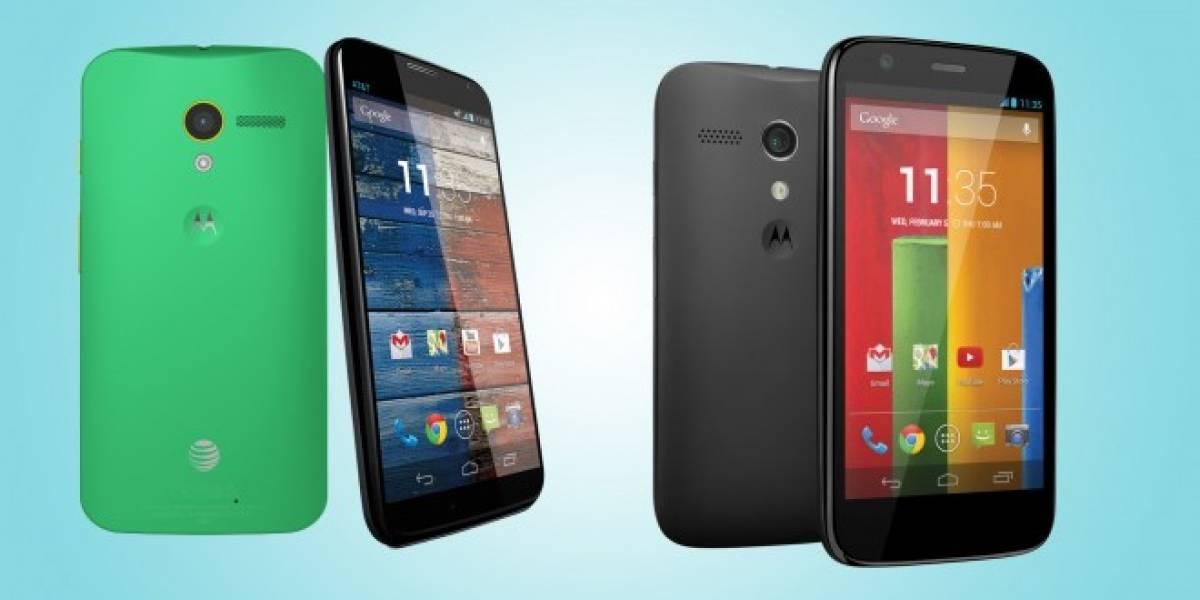Motorola Chile informa sobre las actualizaciones para el Moto G y Moto X a Android 4.4.2 KitKat