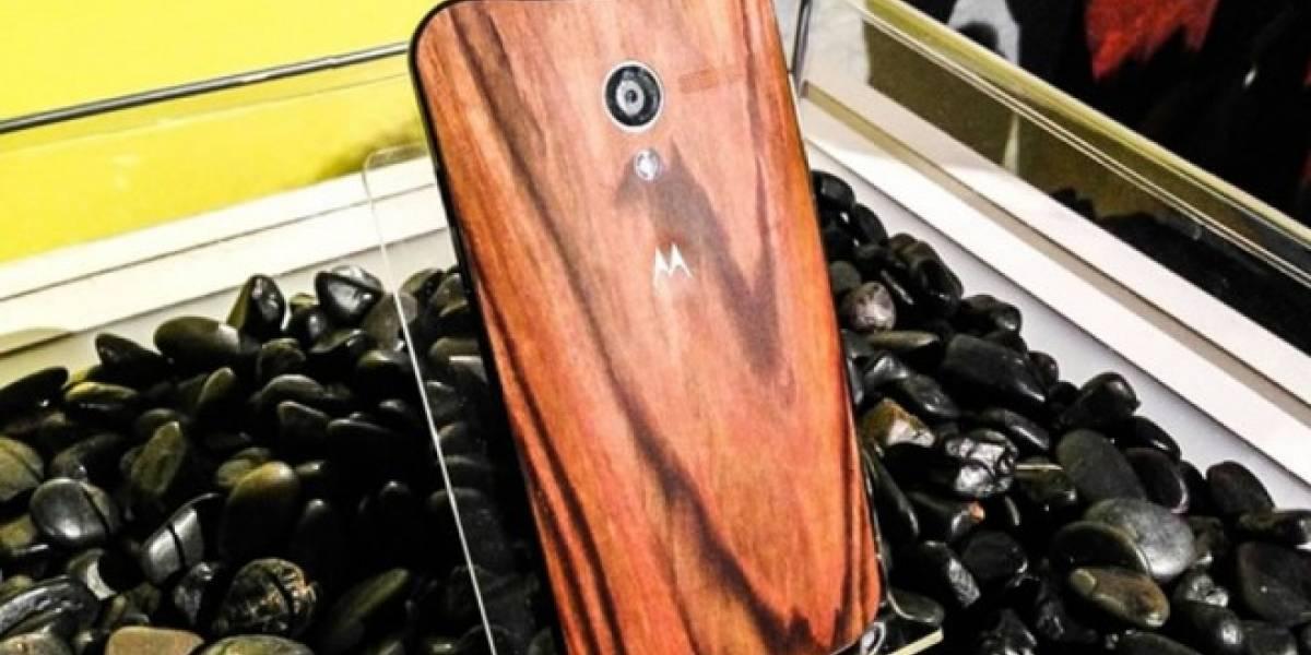 Moto X tendrá carcasa de madera (de verdad)