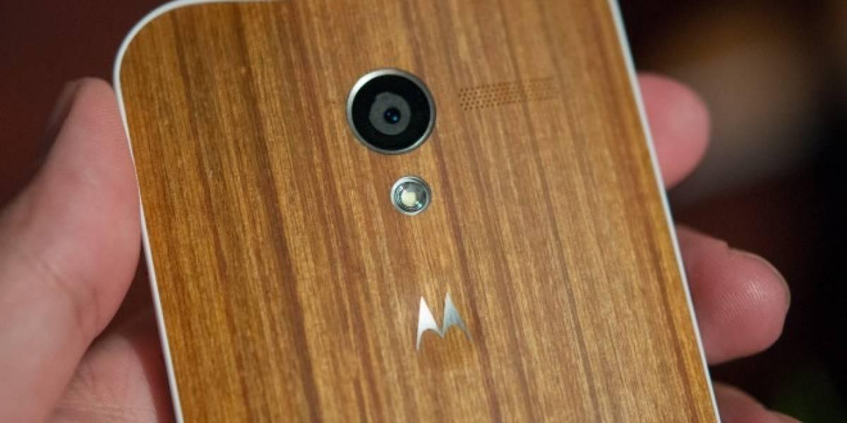 ¡Por fin! Motorola comienza a vender Moto X con panel trasero de madera