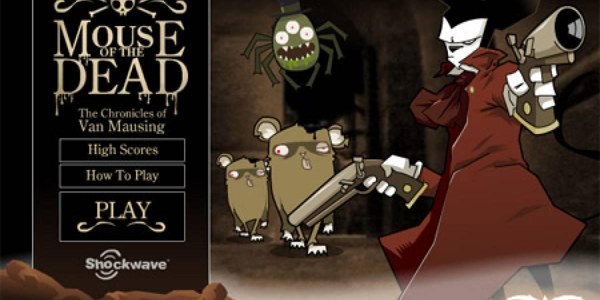 El ratón de los muertos: a cazar lauchas zombies!!