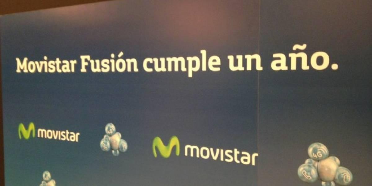 Movistar presenta nuevas ofertas Fusión y red 4G