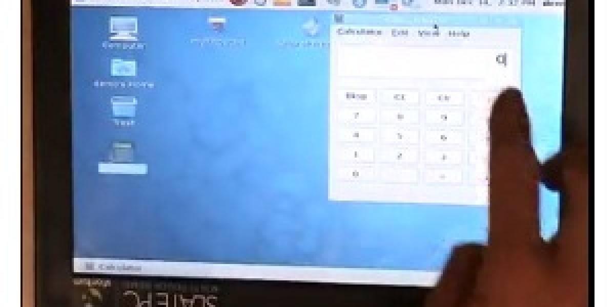 Demo de soporte multitouch nativo en Linux