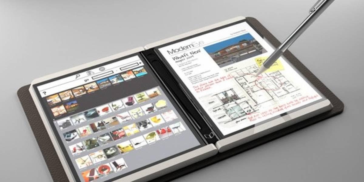Futurología: Microsoft Courier para el 2010 con Windows 7