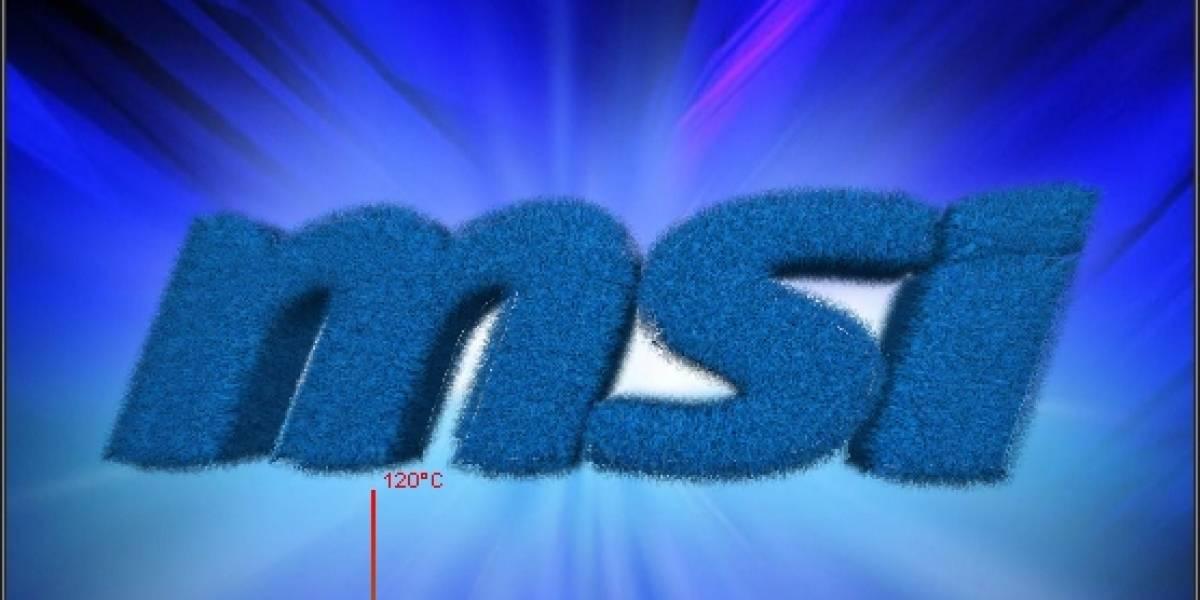MSI lanza Kombustor