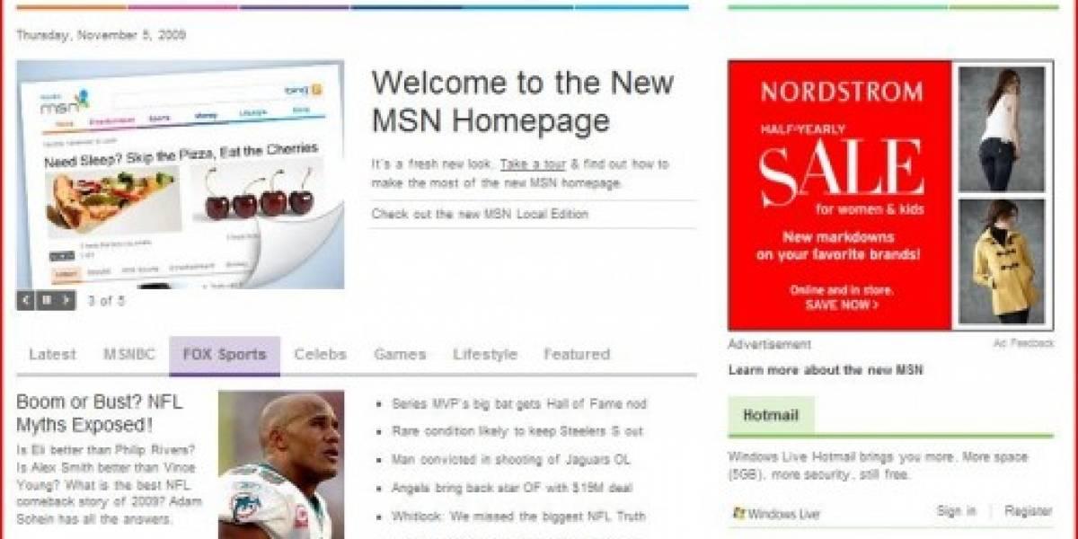 MSN Refrescará su imagen en 2010