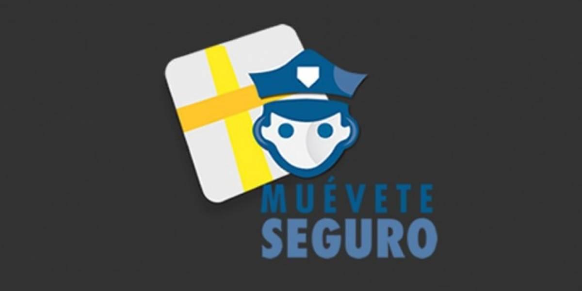 Muevete Seguro, una aplicación de seguridad que debes tener