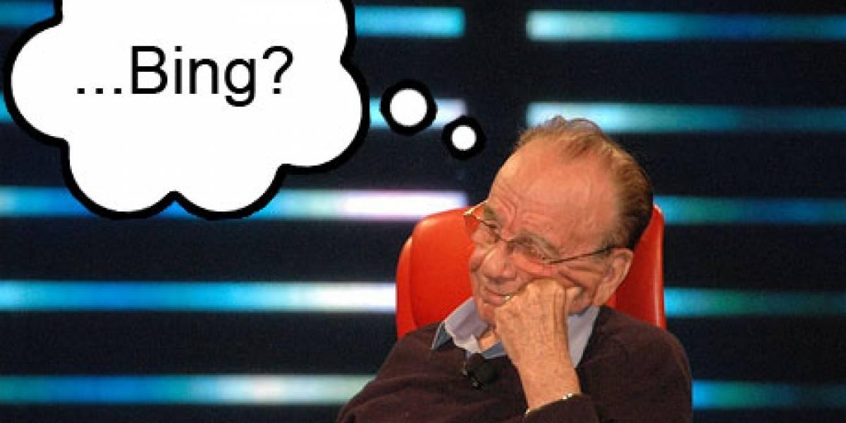 Murdoch estaría conversando con Microsoft para mover sus diarios a Bing