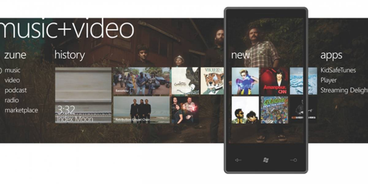 Windows Phone 7, la apuesta móvil de Microsoft