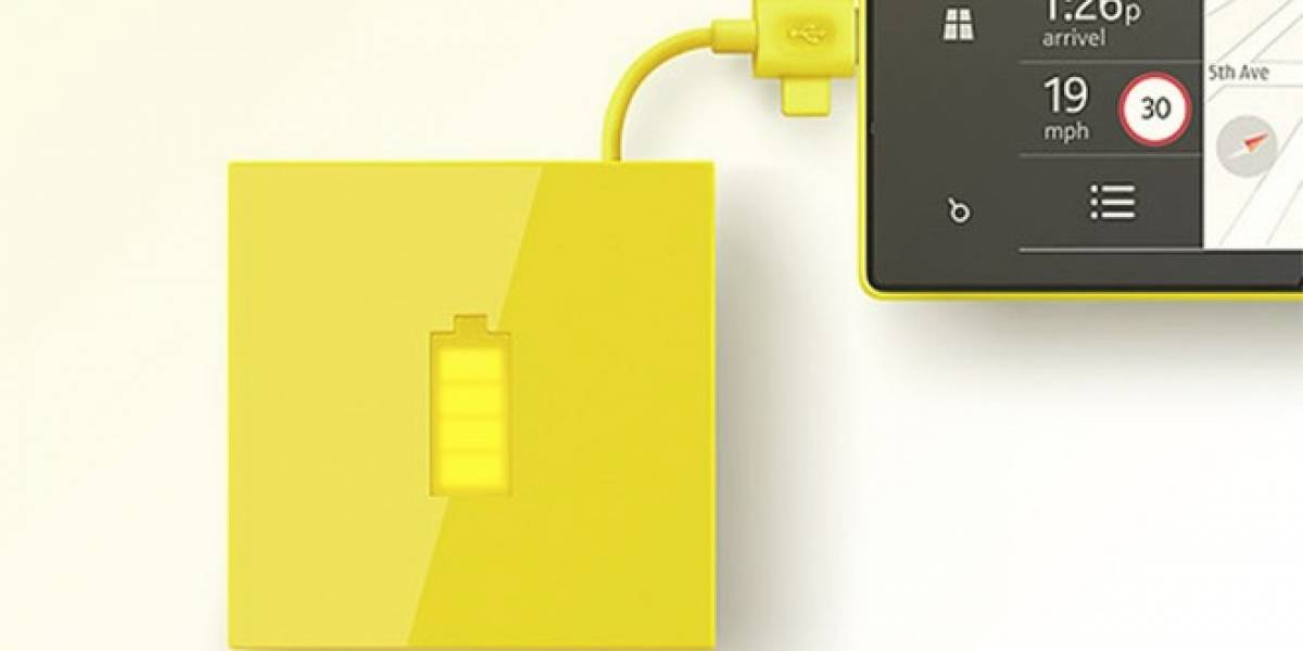 El nuevo, minimalista y atractivo cargador portátil externo de Nokia