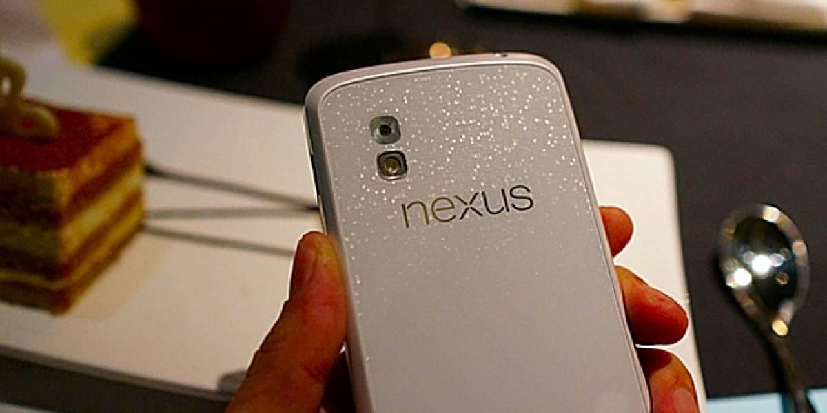 Aparecen imágenes del LG Nexus 4 blanco